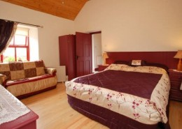 Alder Traditional Cottage Donegal - ensuite bedroom