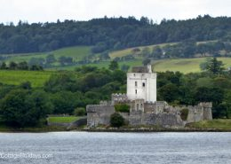 Doe Castle close to Heather Cottage Creeslough