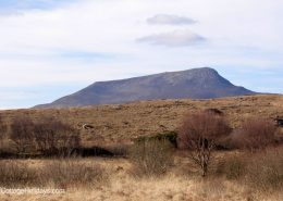 Muckish Mountain close to Heather Cottage Creeslough