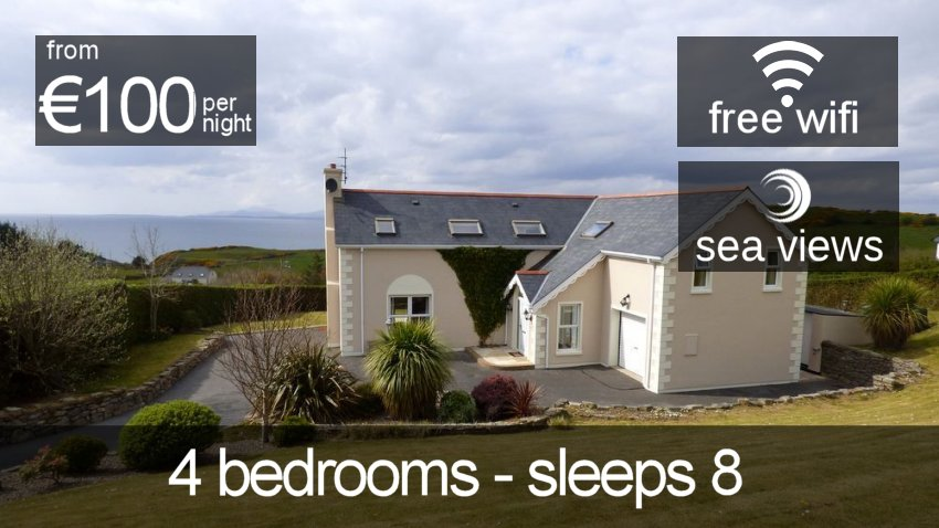 Rossnowlagh Donrone Luxury Holiday Home