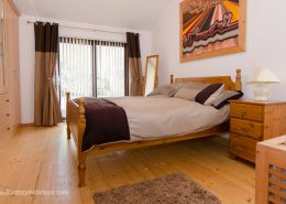 Glen View Porthaw - ensuite double bedroom