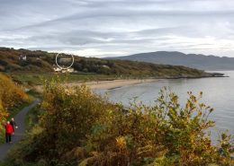 Hygge House Buncrana Inishowen - overlooking Porthaw beach