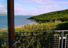Hygge House Buncrana Inishowen - view from bedroom