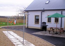 Laburnum Lodge Donegal Patio area