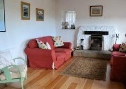 Rock Cottage Carrick Donegal - living area
