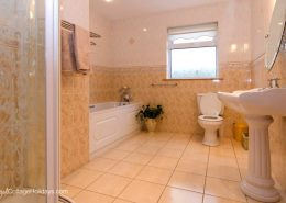 Waterchase Buncrana Inishowen - ground floor bathroom