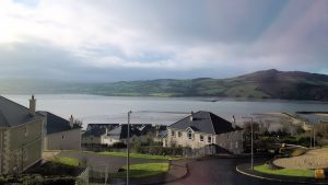 15 Beacon Hill Fahan Inishowen - view from the house