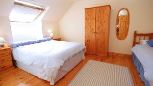 Double bedroom of 15 Glashedy Ballyliffin - holiday home Inishowen
