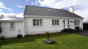 Exterior view of Woodlawn Holiday Home Stranorlar Donegal