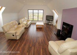 Knockalla Lodge Portsalon - living area