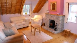 Sealane Cottage Rathmullan Donegal - living area