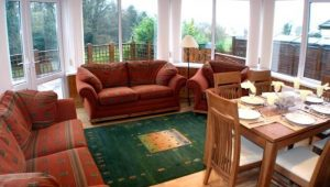 Sealane Cottage Rathmullan Donegal - sunroom