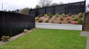 Woodlawn Holiday Home Stranorlar Donegal - rear garden