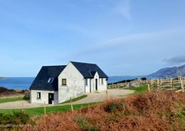 Knockalla Lodge with breathtaking views