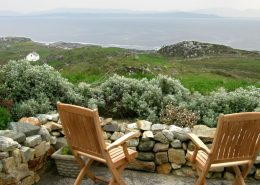 Falmore Cottage Dungloe - view from patio