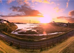 Sunset at Bunbeg from Seawater House