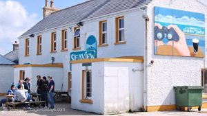 Atlantic Curve Malin Head - the nearby Seaview Tavern