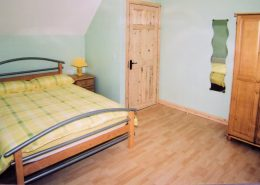 Portnacross Seaside Cottages double bedroom