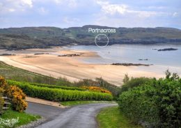 Portnacross Seaside Cottages - located close to Fintra Bay