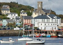 Portnacross Seaside Cottages - the harbour area at Killybegs
