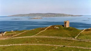 Seaside Cottage Dungloe - the nearby Crohy Tower