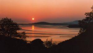 Seaside Cottage Dungloe - west Donegal Sunset