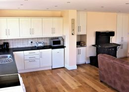Boden's Terrace Culdaff - Kitchen and Living area
