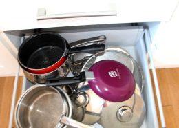 Boden's Terrace Culdaff - Kitchen pots pans