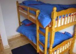 Ealu Holiday Home Culdaff Inishowen - bunk bedroom