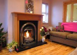Ealu Holiday Home Culdaff Inishowen - living room