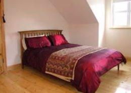Ealu Holiday Home Culdaff Inishowen - upper floor double bedroom