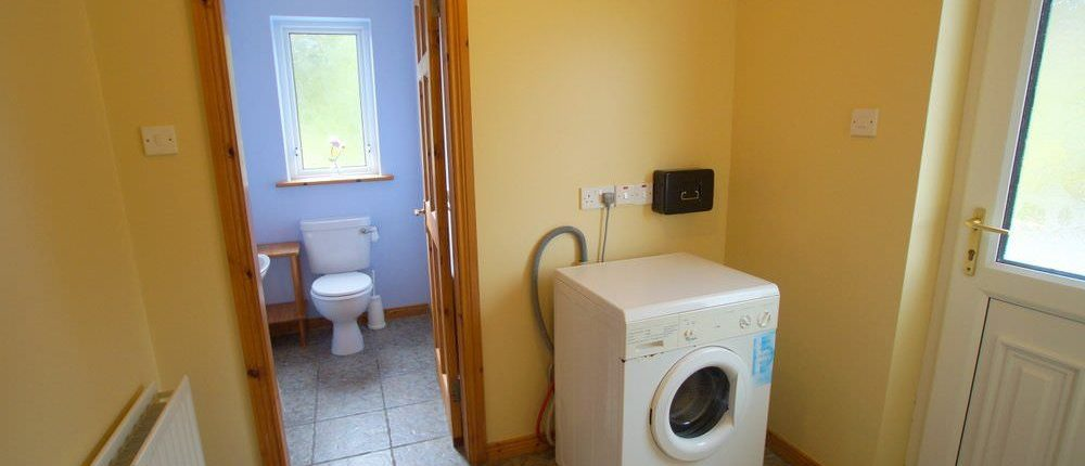 Sea View Cottage Donegal Town - utility room