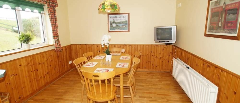 Sea View Cottage Donegal Town - dining area