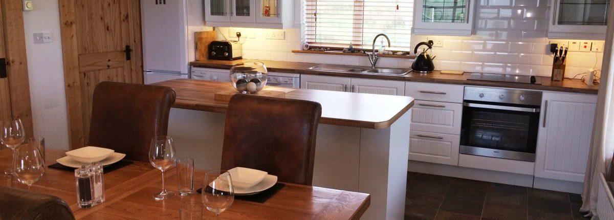 Seaview Cottage Malin Head - kitchen