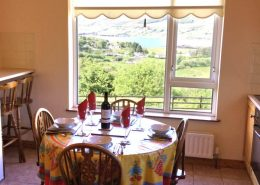 Seireannes Killybegs - dining area with view