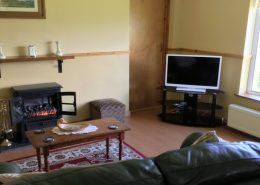 Seireannes Killybegs - living room with flat screen tv