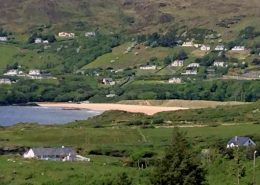 Seireannes Killybegs - view from the house towards Fintra Bay