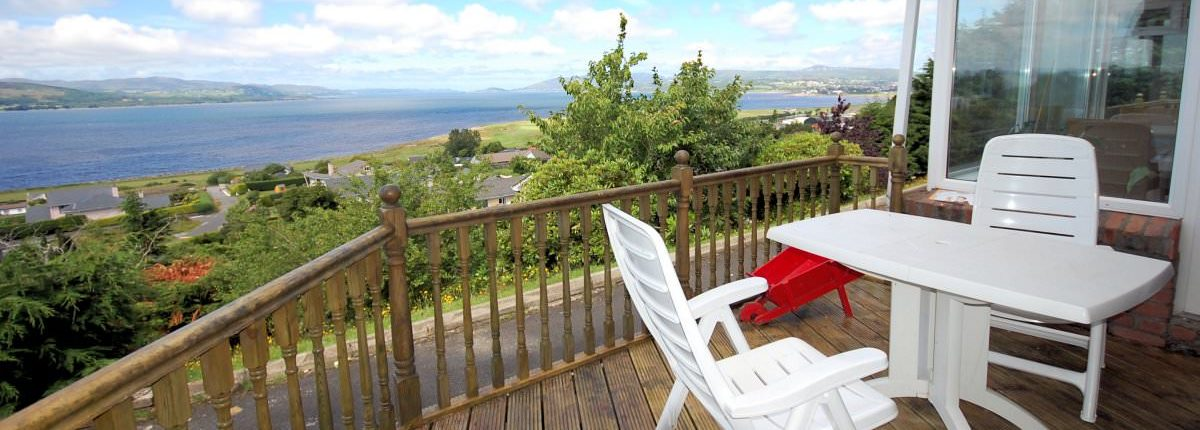 Swilly View Lisfannon Inishowen - fabulous sea views