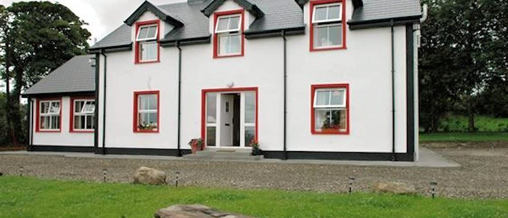 Willow farmhouse Donegal - exterior view