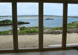 Rottytoy Beach House Bunbeg - looking towards Carrickfinn