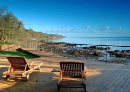 The Shorefront Redcastle Inishowen - enjoy the views over Lough Foyle