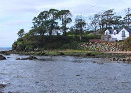 The Shorefront Redcastle Inishowen - along Lough Foyle