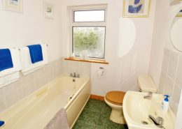 Appletree House Donegal Town - bathroom with separate shower