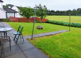 Appletree House Donegal Town - large rear garden