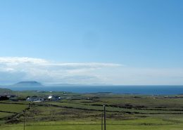 Teach Micheál at Malin Head - local landscape