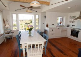 The Sea House Dungloe - dining and kitchen area