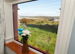 The Sea House Dungloe - view from interior