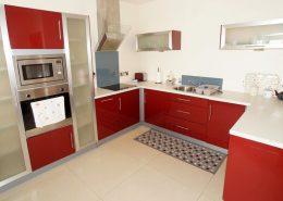 Castle Inn Apartments Greencastle - kitchen of Apartment 2