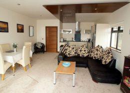 Castle Inn Apartments Greencastle - open plan interior
