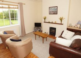 Drumburn Holiday Apartment Milford - living area
